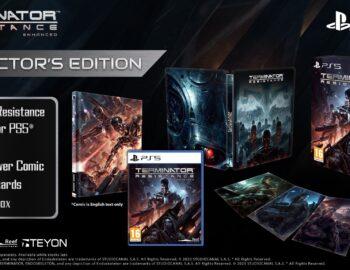 Kolekcjonerskie wydanie Terminator: Resistance Enhanced na Playstation 5