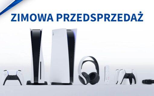 Zimowa przedsprzedaż Playstation 5 w Media Expert