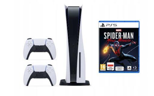 Zestaw z Playstation 5 dostępny w oficjalnym sklepie Media Markt na Allegro