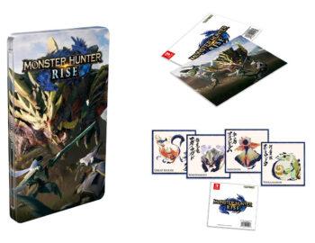 Steelbook z Monster Hunter Rise jako bonus także w Polsce