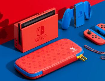 Nintendo zapowiada specjalną edycję Nintendo Switch Mario Red & Blue Edition
