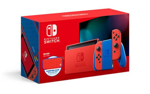 Konsola Nintendo Switch Mario Red & Blue Edition dostępna w Polsce