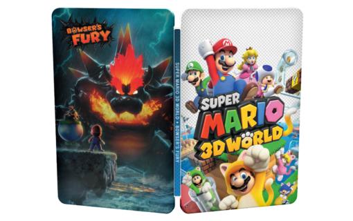 Steelbook z Super Mario 3D World + Bowser's Fury