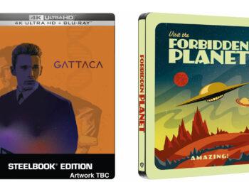 Zakazana planeta i Gattaca szok przyszłości – nowe filmowe Steelbooki w Zavvi
