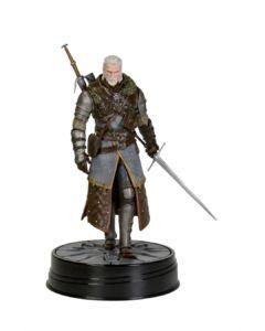 Wiedźmin figurka Geralt w zbroi Szkoły Niedźwiedzia