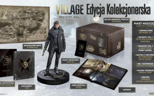 Edycja Kolekcjonerska Resident Evil Village – ruszyła przedsprzedaż w Polsce