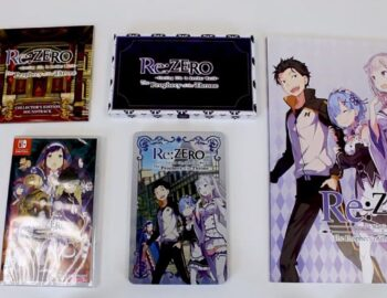 Unboxing kolekcjonerki Re:ZERO Starting Life in Another World The Prophecy of the Throne