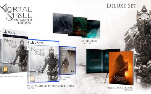 Mortal Shell Enhanced Edition w pudełkowej wersji Deluxe