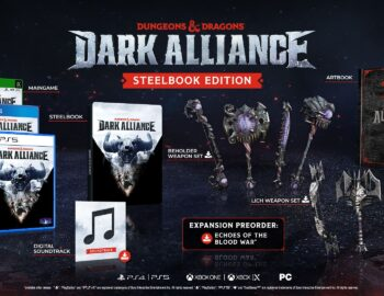 Dungeons & Dragons: Dark Alliance z datą premiery i edycją w Steelbooku