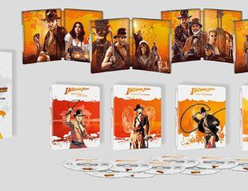 Kolekcja Steelbooków z filmami Indiana Jones w 4K – wydanie dostępne w Europie