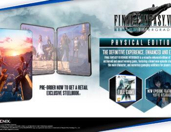 Steelbook z Final Fantasy VII Remake Intergrade jako bonus w polskich sklepach