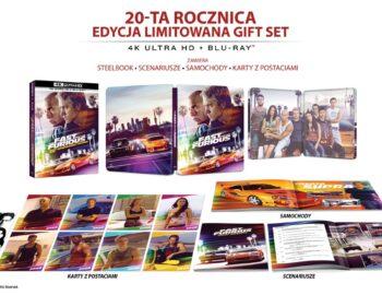 Rocznicowy Steelbook z filmem Szybcy i wściekli w 4K także w Polsce