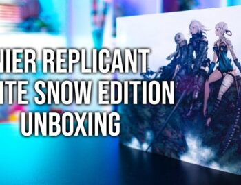 Unboxing kolekcjonerki NieR Replicant ver.1.22474487139… White Snow Edition