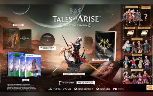 Kolekcjonerka Tales of Arise – ruszyła przedsprzedaż w Polsce