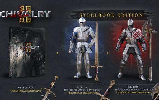 Steelbook w specjalnym wydaniu Chivalry 2