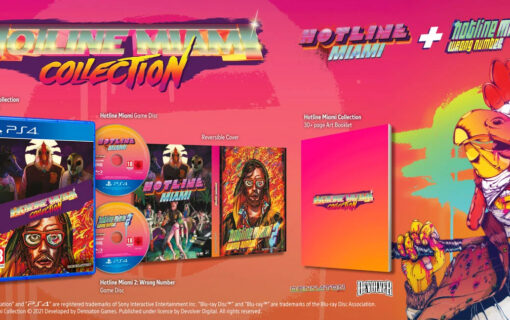 Fizyczne wydanie Hotline Miami Collection dostępne w polskich sklepach