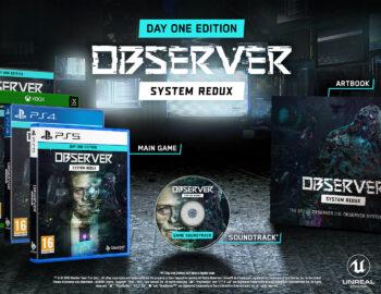 Observer System Redux w pudełkowym wydaniu Day One Edition