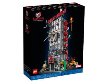 Nowy zestaw LEGO z uniwersum Marvela – model redakcji Daily Bugle