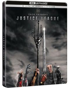 Liga Sprawiedliwości Zacka Snydera 4K Steelbook