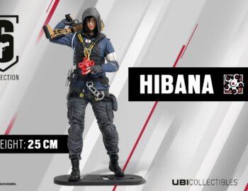 Rainbow Six Siege z nową figurką – 25-cm Hibana zadebiutuje w październiku