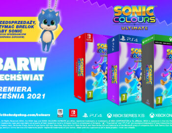 Limitowane wydanie Sonic Colours Ultimate dostępne w Polsce