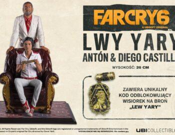 Far Cry 6 otrzyma kolekcjonerską figurkę Antón & Diego Castillo – Lwy Yary