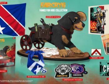 Kolekcjonerski zestaw Far Cry 6 z figurką psa Chorizo