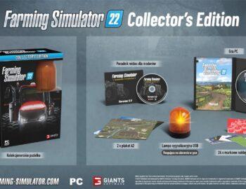 Zaprezentowano kolekcjonerskie wydanie Farming Simulator 22