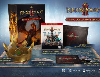 Kolekcjonerskie wydanie King's Bounty II z królewską koroną
