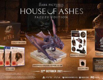 The Dark Pictures: House of Ashes z datą premiery, kolekcjonerką i dioramą