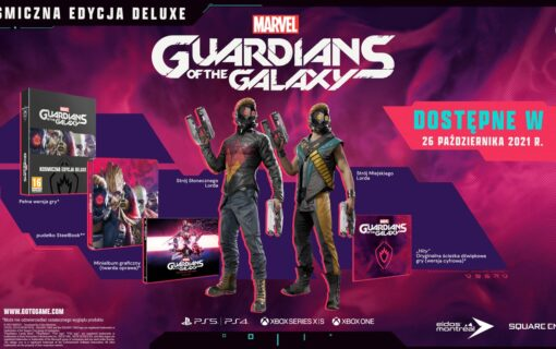 Guardians of the Galaxy w specjalnym wydaniu zawierającym Steelbook i artbook