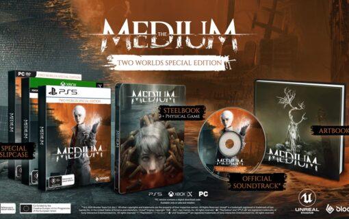 The Medium w specjalnym pudełkowym wydaniu Two Worlds Special Edition