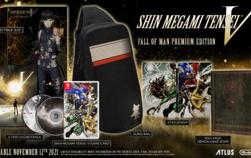 Zapowiedziano kolekcjonerskie wydanie Shin Megami Tensei V Fall of Man Premium Edition