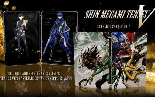 Steelbook z Shin Megami Tensei V jako przedsprzedażowy bonus w Polsce