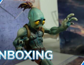 Kolekcjonerka Oddworld Soulstorm na oficjalnym unboxingu