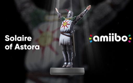 Dark Souls Remastered dostanie własne amiibo Solaire of Astora