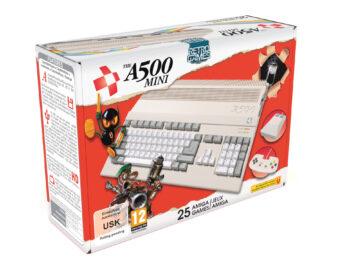 Na początku 2022 roku pojawi się zainspirowane Amigą 500 The A500 Mini