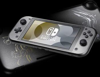Nintendo Switch Lite w limitowanej wersji Dialga and Palkia Edition