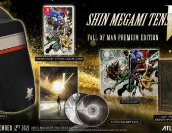 Ruszyła przedsprzedaż kolekcjonerki Shin Megami Tensei V Fall of Man Premium Edition