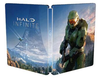 Halo Infinite w specjalnej edycji zawierającej Steelbook