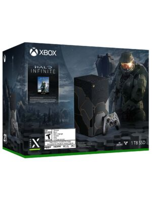 Konsola Xbox Series X limitowana edycja Halo Infinite