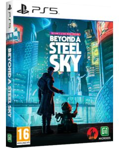 Beyond a Steel Sky Beyond a Steel Book Edition