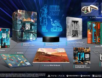 Beyond a Steel Sky z limitowanymi edycjami pudełkowymi. Ruszyła przedsprzedaż