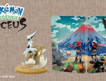 Pokémon Legends: Arceus z figurką i Steelbookiem