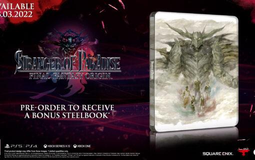 Steelbook ze Stranger of Paradise: Final Fantasy Origin