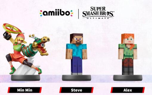 Poznaliśmy kolejne figurki amiibo z Super Smah Bros. zaplanowane na 2022 rok