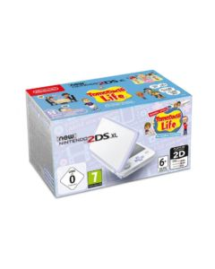 New Nintendo 2DS XL biało-lawendowa + Tomodachi Life