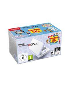 New Nintendo 2DS XL biało-lawendowa + Tomodachi Life