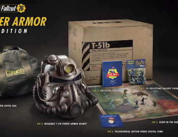 Fallout 76 Power Armor Edition z hełmem T-51b