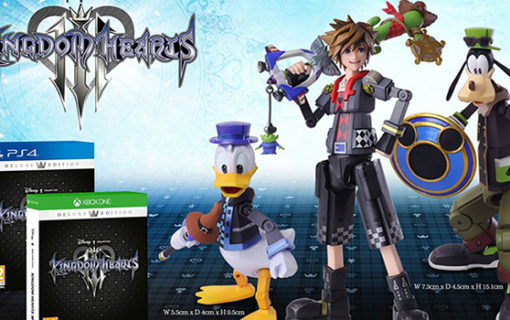 Poznaliśmy limitowane wydania Kingdom Hearts III